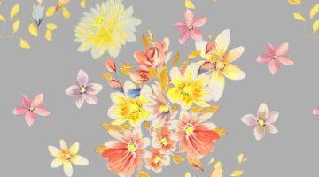 kompozycja kwiatowa jak z dawnych lat