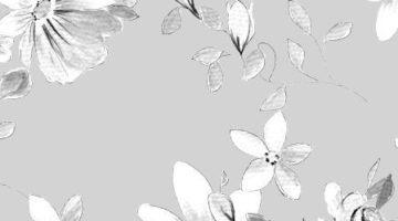 kwiatowa kompozycja w odcieniach szaroci