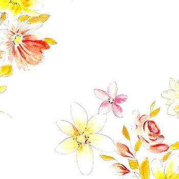 kwiatowy wzor jak z dawnych lat