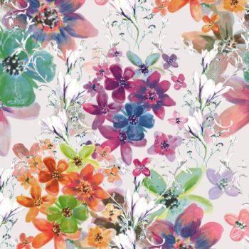 kwiatowy wzor dekoracyjny